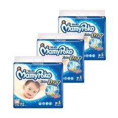 Mamypoko Popok Tape Extra Dry M 72 - Karton Isi 3