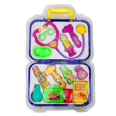 Marlow Jean Mainan Anak Peran Dokter-Dokteran Mini Doctor Play Set Mainan Edukasi Anak - 13 Item