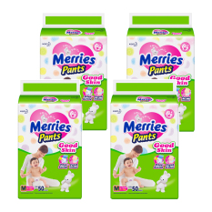 Merries Pants Good Skin M-50 - Karton Isi 4