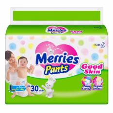 Merries Popok Pants Good Skin - L 30 - Paket 2 Pcs