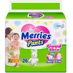 Merries Popok Pants Good Skin - XL 26
