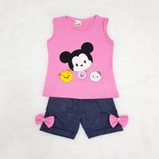 Pink Source · Gsd Setelan Baju Celana Pendek Anak Cewe Set Ice Cream .