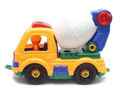 MOMO Toys Truck Molen Rakit 846 - Mainan Truck Molen