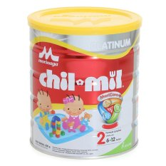 Morinaga Chil Mil Platinum Susu Bayi - 800gr Tin