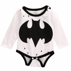 Newborn Baby Girl Boy Cartoon Romper Jumpsuit Playsuit Bodysuit Outfits - intl