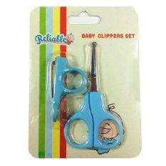 Nice Baby Gunting Kuku Bayi - 1 Buah - Biru