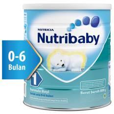 Nutribaby 1 Plain 800gr Tin
