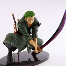 One Piece Zoro Figure Scultures Pvc 160Mm One Piece Action FiguresToys Roronoa Zoro Model One Piece-Action-Figures B590 - Intl