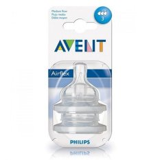 Philips Avent Classic Medium Flow Nipple 3m+ (3 holes) SCF633/27 Putih