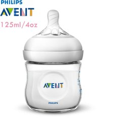 Philips Avent SCF690/13 Bottle Natural New Spiral 125 ml - Single Pack (Putih)