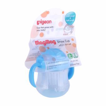 Pigeon Petite Straw Bottle 150ml botol minum anak dengan sedotan - Biru. Source · PIGEON