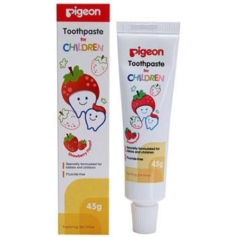 Pigeon Toothpaste Odol Pasta Gigi Rasa Strawberry 45gr