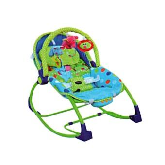 Wulanda Pliko rocking chair hammcok bouncher tempat duduk dan tidur bayi