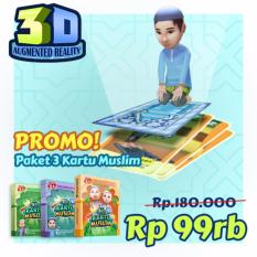 Promo Paket Hemat Kartu Muslim 3-in-1
