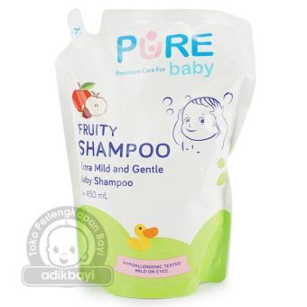 Pure Baby Shampoo Bayi   Shampoo Fruity Refill 450ml -PBC025
