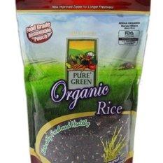 Pure Green Organic Rice Beras Hitam - 1 kg