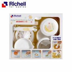 Richell Baby Food Cooking Set B - Baby Food Maker