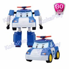 Robocar Poli Transformable Mainan Mobil Robot Berubah Poli