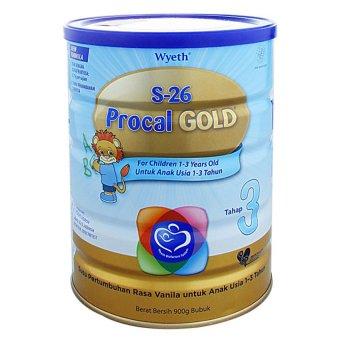 S26 Procal Gold Susu Pertumbuhan - 900gr - Kemasan Baru