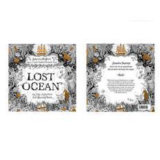 Secret Garden Flower Anti Stress Books Intellectual Coloring Painting Lost Ocean Intl