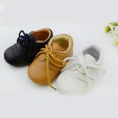 Sepatu Bayi Laki2 Prewalker Leather