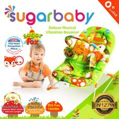 Sugar Baby Deluxe Musical Vibration Bouncher - Sugar Fox
