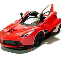 Super Racer RC Mobil Laferrari Skala 1/16 Pintu Buka Tutup dengan Remote Control - Merah
