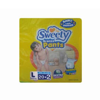 SWEETY BRONZE PANTS L 20 + 2