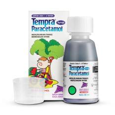 Tempra Syrup 60 Ml - Obat Penurun Panas Anak, Obat Demam