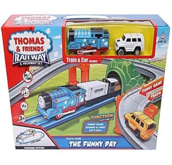 Thomas & Friends Railway And Highway Set