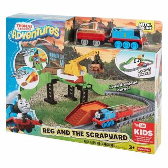 Thomas & Friends(R)(TM) Thomas Adventures Reg at the Scrapyard