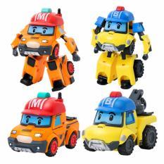 TME Robocar Poli Transforming Robot Mark and Bucky