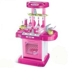 Tomindo Kitchen Set Pink 008-58