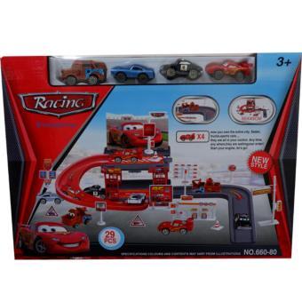 ... ROBOCAR POLI TRANSFORMABLE ROBOT 660-194 61PCS MAINAN PARKING. Source · Tomindo Parking Car Garage 660-80 .