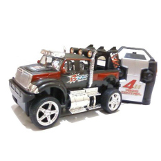 Tomindo Remote Control King Driver Jeep - Hitam