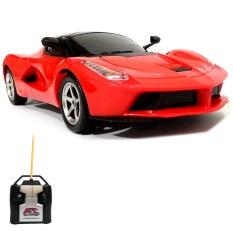 Top Speed RC Mobil LaFerrari Skala 1/24 Mainan Edukasi Anak Mobil Remote Control - Merah