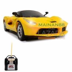 Top Speed RC Mobil LaFerrari Skala 1/24 Mainan Edukasi Anak Mobil Remote Control - Kuning
