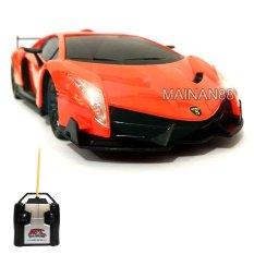 Top Speed RC Mobil Lamborghini Veneno Skala 1/24 - Orange