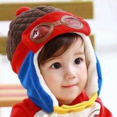 Topi Bayi Pilot Korea New Model | Pilot Hat | Topi Anak | Topi Baby | Topi Balita | Topi Keren | Topi Unik | Topi Murah | Topi Lucu
