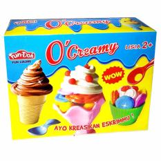 TSH - Mainan Edukasi Lilin Fun Doh O Creamy Es Cream - Multi Colour