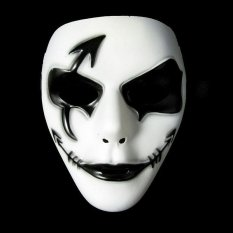 Unisex Women Men Funny Cosplay Halloween Full Face Cover Face Mask Masks - intl