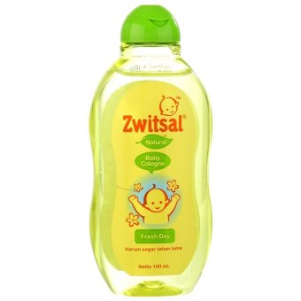 Zwitsal Baby Cologne Natural Fresh Day 100ml - ZBB030