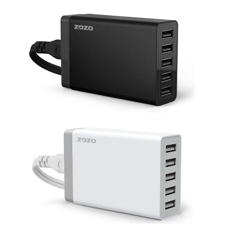 40W 5 Ports USB Hub Desktop Charger Power Adapter (Intl)