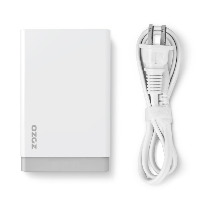 40W/8A 5-Port High Speed USB Charger (White) (Intl)