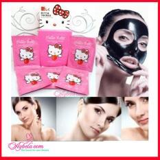 1 Box isi 10 Pcs Masker Lumpur Untuk Memutihkan Wajah Mengangkat Komedo by Naturgo Hello Kitty isi 10 Sachet