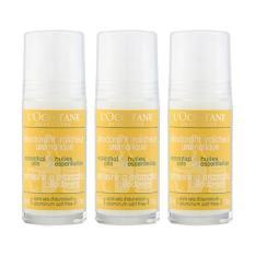 3 x L'Occitane Refreshing Aromatic Deodorant 1.7oz, 50ml - intl