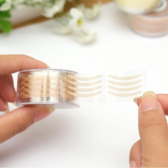300 Pairs Lace Eye Lift Strips Double Eyelid Tape Adhesive StickersMakeup Tool - intl