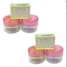 A-dha - Pink Cream - Paket Pemutih Wajah - Usia 20 - 40 Tahun - 2 Pcs Pink
