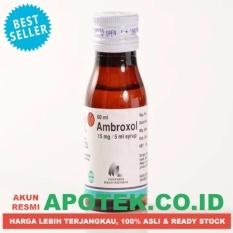 Ambroxol Syrup / Sirup - 60 ml - Obat Batuk Bedahak