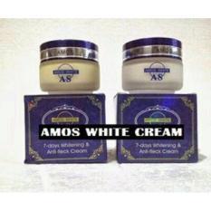 Amos White Whitening & Anti-fleck Cream Original 100%